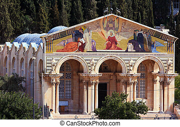 Church of All Nations on the Mount of Olives, Jerusalem
