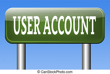your user account