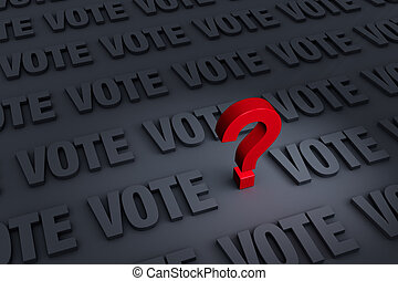 Questioning The Vote
