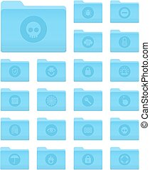 OS X Folders with Security Icons