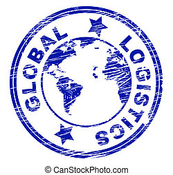 Global Logistics Represents Coordination Globally And...