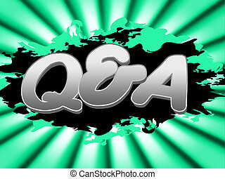 Q And A Indicates Frequently Asked Questions And Knowhow - Q...