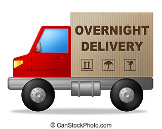 Overnight Delivery Means Next Day And Express
