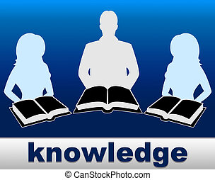 Knowledge Books Indicates Proficiency Textbook And...
