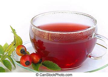 rose hip tea 04