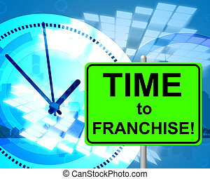 Time To Franchise Represents At The Moment And Concession -...