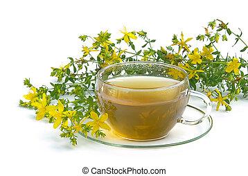 tea St Johns wort 03