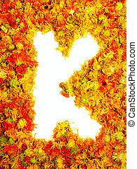 Letter K. - Initials letter K.