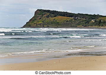 Seven Mile Beach in Lennox Head in Australia