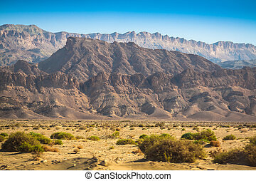 Atlas Mountains, Chebika, border of Sahara, Tunisia