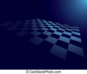 abstract checked board - Abstract vector checked board for...