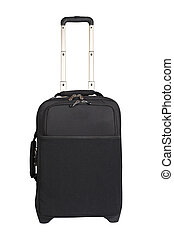 Suitcase trolley - A suitcase trolley isolated on white...