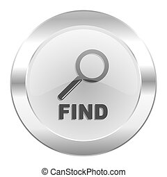 find chrome web icon isolated