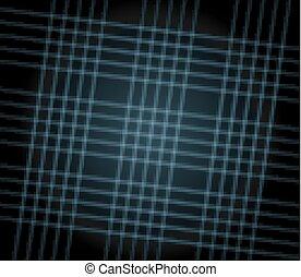 Grid black texture background