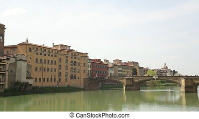 A view of Ponte Vecchio in Florence - A view of Ponte...