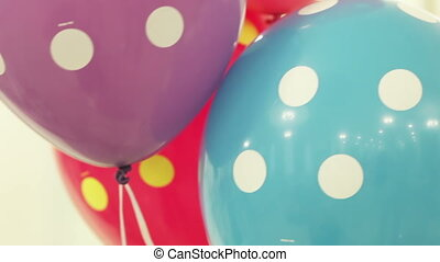 Three balloons - Helium-filled balloons to wedding party