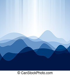 abstract background from waves,vector illustration