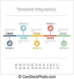 Infographics - Business Timeline Infographics vector design...