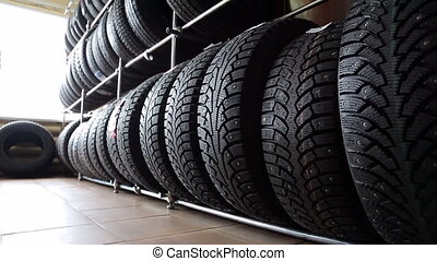Tires for wheels in the auto parts