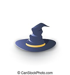 Witchs Hat Illustration, Graphic Concept For Your Design