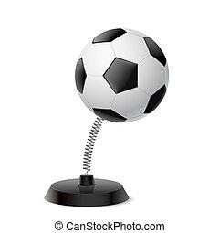 Football souvenir - Table souvenir in form of football ball...