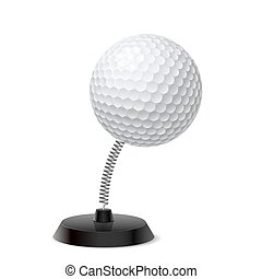 Golf souvenir - Table souvenir in form of golf ball on...
