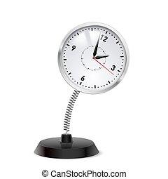 Clock souvenir - Table souvenir in form of clock on spring