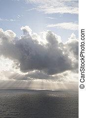 Clouds over the Atlantic Ocean, Ireland
