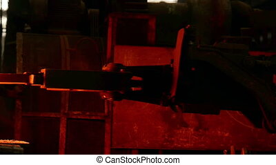 Industrial machine at the factory - Industrial machines at...