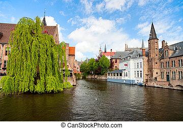 Bruges city in Belgium