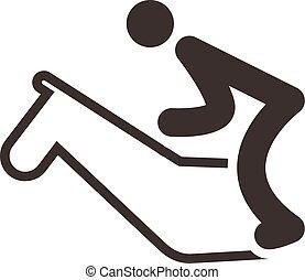 equestrian icon - Summer sports icon - equestrian icon