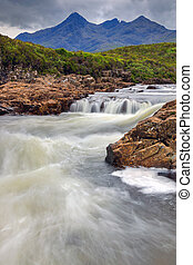 Small stream on the Isle of Skye - A small stream on the...