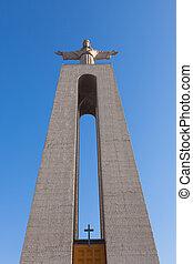 Jesus Christ monument quot;Cristo-Rei Lisboaquot; in Lisbon,...