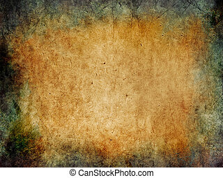 Grunge background with patina - illustration in retro style