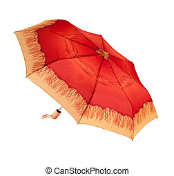 Bright umbrella, automatically opening, abstract ornament