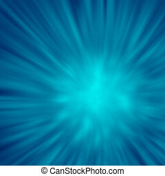 blue Background abstract explosion
