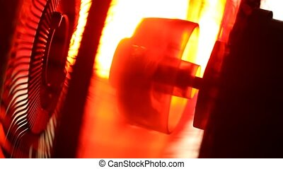 Industrial Fan - Close up of an electricIndustrialFan