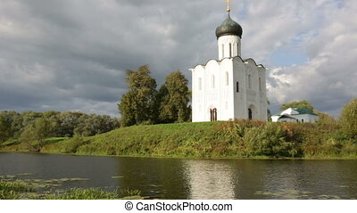 Church of Intercession upon Nerl River Bogolubovo, Vladimir...