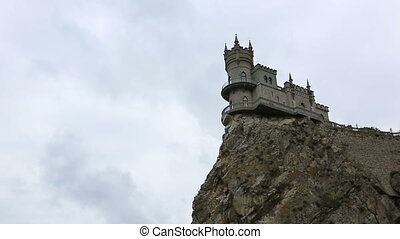 Swallow's Nest Castle, Crimea - well-known castle Swallow's...