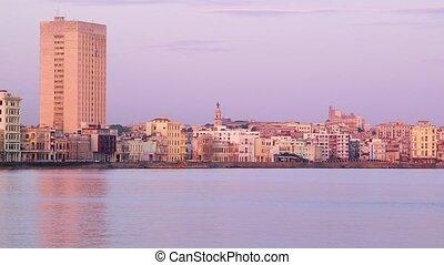 Cuba, Havana, Malecon promeade