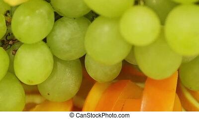 Sliced fruit CU