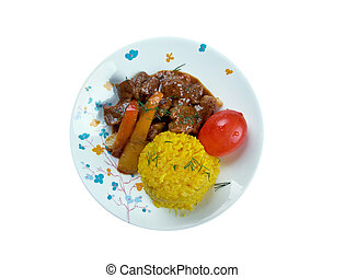 Seco de Chivo - Secos are thick Ecuadorian stews, usually...