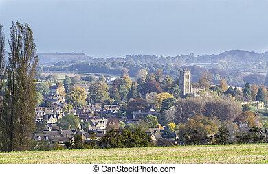 Panorama of Chipping Campden, Gloucester, England - Panorama...