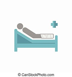 Emergency Flat Icon - Emergency Medical Flat Icon Vector...