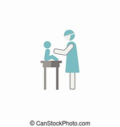 Maternity Flat Icon. Vector Pictogram. EPS 10.