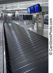 Baggage carousel at the airport Buggage claim