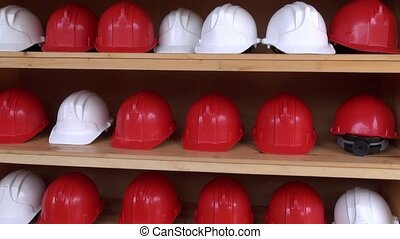 Mine Helmets, Head Protection, Hard Hats