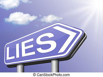 telling lies - lies breaking promise break promises cheating...