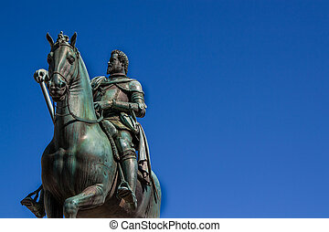 Monument to Grand Duke Ferdinando I in Florence - Equestrian...