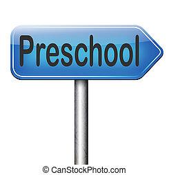 preschool education kindergarten nursery school or playgroup...